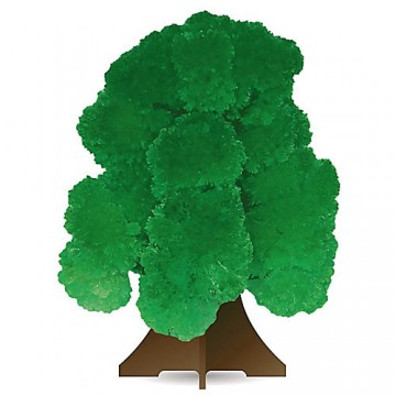 """Выращивание кристаллов """"Волшебное дерево"""" зеленое"""