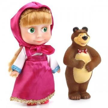 """Кукла """"Маша"""" с мишкой"""