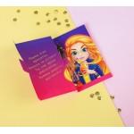 """Духи в открытке для девочки """"Веселого настроения!"""""""