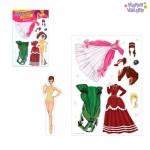 Магнитная игра «Одень куклу: герцогиня»