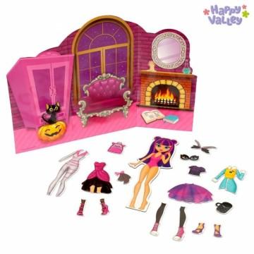 Магнитный набор с куклой  «Красотка Сандра»