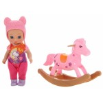 Кукла в наборе с лошадкой