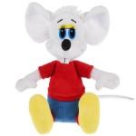 """Мягкая игрушка """"Кот Леопольд. Белый мышонок"""""""