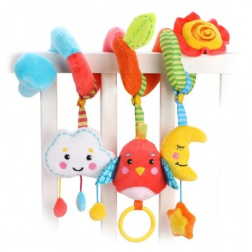 "Растяжка с развивающими игрушками ""Лесная сказка"""