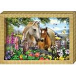 """Набор для картины """"Я люблю лошадок"""""""
