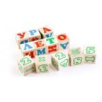 Кубики «Алфавит с цифрами» русский