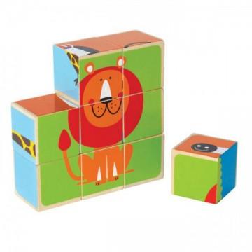 """Кубики """"Животные"""" Hape"""