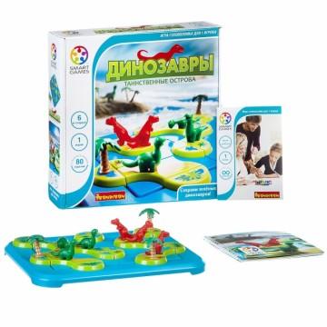 """Логическая игра BONDIBON """"Динозавры.Таинственные острова"""""""