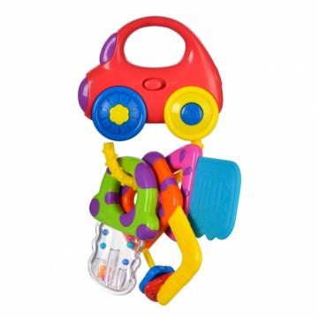 """Игрушка """"Машинка с ключиками"""" со светом и прорезывателями"""