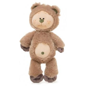 """Мягкая игрушка """"Медвежонок Почемучка"""" средний"""