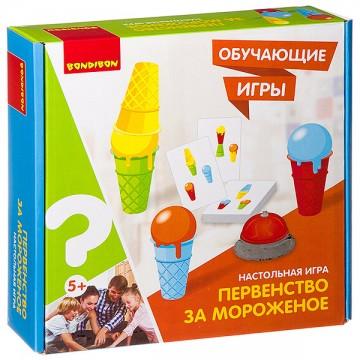 """Настольная игра """"Первенство за мороженое"""""""