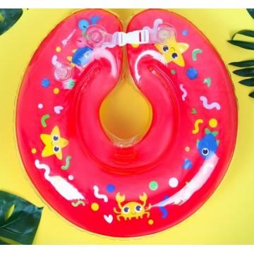 Круг на шею для купания «Давай купаться» с погремушками