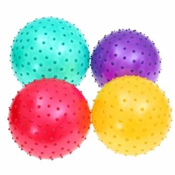 Мячик массажный матовый 20см