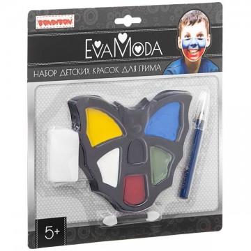 """""""Eva Moda. Детские краски для грима"""