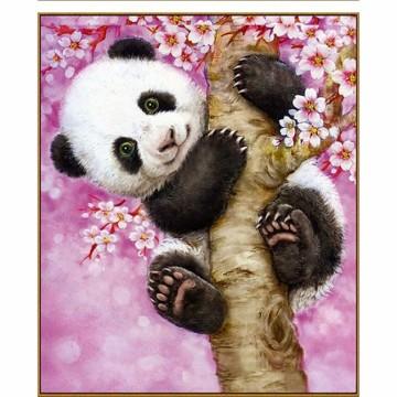 "Алмазная мозаика ""Весёлая панда"""