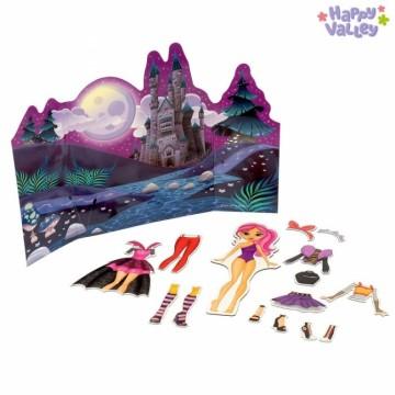 Магнитный набор с куклой «Хэллоуин»
