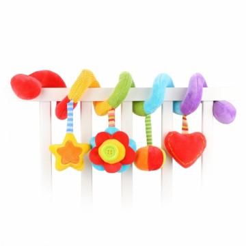 "Растяжка с развивающими игрушками ""Радуга"""