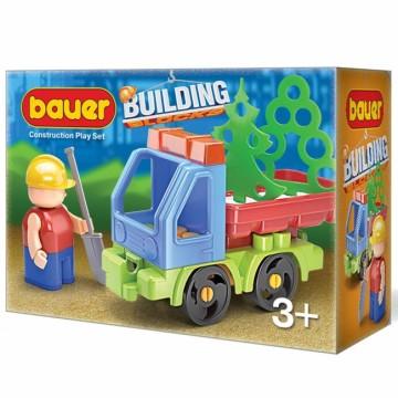 "Bauer Конструктор ""Стройка"" набор с грузовиком"