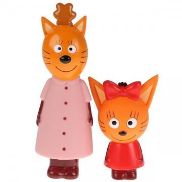"""Игрушки для ванной """"Три Кота. Мама и Карамелька"""""""